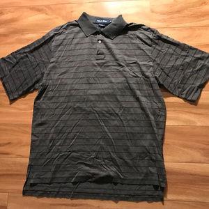 Polo Golf By Ralph Lauren Mens Gray Shirt Size L